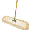 Mops & Buckets: Boardwalk® Cotton Dry Mopping Kit