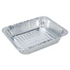 Boardwalk Full and Half Size Aluminum Pan BWKSTEAMFLDP