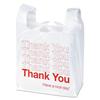 Boardwalk Boardwalk® Plastic Thank You Bags BWK TB1122SPK