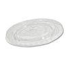Boardwalk Crystal-Clear Cold Cup Straw-Slot Lids BWK YLP-20C