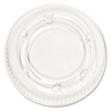Boardwalk Crystal-Clear Portion Cup Lids BWK YLS-2FR