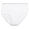 Care Apparel CareActive® Mens Reusable Incontinence Brief 10 oz. CAA 6255-10-3X-WHT