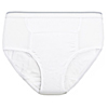 Care Apparel CareActive® Mens Reusable Incontinence Brief 6 oz. 3-Pack CAA 6255-3X-WHT-3PK