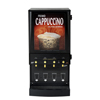 Wilbur Curtis G3 Primo Cappuccino Four Station with Illuminated Box WCS CAFEPC4CL10000