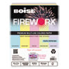 loose paper: FIREWORX® Multipurpose Colored Paper