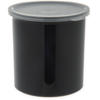 Poly-Tuf Crock w/Lid 1.2 qt - Black
