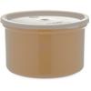 Poly-Tuf Crock w/Lid 1.5 qt - Beige