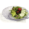 """Carlisle Leaf Plate 9"""" - Clear CFS 034707CS"""