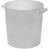 Carlisle Bains Marie Container 6 qt - White CFS 060002CS