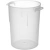 Carlisle Bains Marie Container 8 qt - Translucent CFS 080530CS