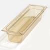 Carlisle High Heat Pan One-Half Long Size 20.75 x 6.25 x 4 (5.1 qt)-Amber CFS 10441B13CS