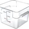 Carlisle StorPlus Polycarbonate Square Food Square Container 12 qt - Purple CFS 10724AF07CS