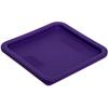 Carlisle StorPlus Square Container Lid 6-8 qt - Purple CFS 1074189CS