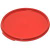 Carlisle StorPlus Round Container Lid 6-8 qt - Red CFS 1077205CS