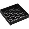 "Carlisle NeWave Square Drip Tray 4"" - Black CFS1102003CS"