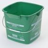 Carlisle 6 qt Square Suds-Pail - Green CFS 1183209CS