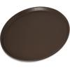 Carlisle Griptite 2 Round Tray - Brown CFS1400GR2076CS