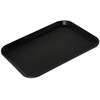 "Carlisle Griptite 2 Rectangle Tray 14"" x 11"" - Black CFS 1410GR2004CS"