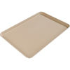 "Glasteel Solid Rectangular Tray 16.4"" x 12"" - Almond"