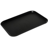 "Carlisle Griptite 2 Rectangle Tray 16"" x 12"" - Black CFS 1612GR2004CS"