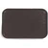 "Glasteel Fiberglass Tray 18"" x 14"" - Black"