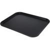 "Carlisle Griptite 2 Rectangle Tray 18"" x 14"" - Black CFS 1814GR2004CS"