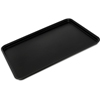 "Carlisle Griptite 2 Rectangle Tray 26"" x 18"" - Black CFS 1826GR2Q004CS"