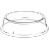 """Carlisle Clear Plate Cover """"Pin Fired"""" 10-1/2"""" to 10-5/8""""  - Clear CFS 199207CS"""