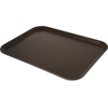 "Carlisle Griptite 2 Rectangle Tray 20"" x 15"" - Brown CFS 2015GR2076CS"