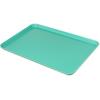 """Glasteel Tray Market 17.9"""" x 25.6"""" (6ea) - Aqua"""