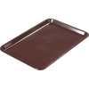 "Carlisle Standard Tip Tray 6-1/2"" x 4-1/2"" - Brown CFS 302201CS"