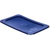 Carlisle Smart Lids Lid - Food Pan 1/4 Size - Dark Blue CFS 3058160CS