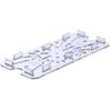 Carlisle Drain Shelf for One-Third Size 12.75 x 7-Clear CFS 3067007CS