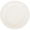 "Carlisle Sierrus Melamine Narrow Rim Dinner Plate 10.5"" - White CFS 3300202CS"