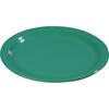 "Carlisle Sierrus Melamine Narrow Rim Dinner Plate 10.5"" - Meadow Green CFS 3300209CS"