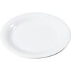 "Carlisle Sierrus Melamine Narrow Rim Dinner Plate 9"" - White CFS 3300402CS"