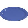 "Carlisle Sierrus Melamine Narrow Rim Dinner Plate 9"" - Ocean Blue CFS 3300414CS"