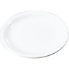 "Plates Salad Plates: Carlisle - Sierrus Melamine Narrow Rim Salad Plate 7.25"" - White"