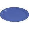 """Plates Salad Plates: Carlisle - Sierrus Melamine Narrow Rim Salad Plate 7.25"""" - Ocean Blue"""