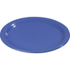 "Carlisle Sierrus Melamine Narrow Rim Salad Plate 7.25"" - Ocean Blue CFS 3300614CS"