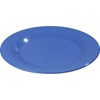 """Carlisle Sierrus Melamine Wide Rim Dinner Plate 10.5"""" - Ocean Blue CFS 3301014CS"""