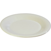 "Carlisle Sierrus Melamine Wide Rim Dinner Plate 9"" - Bone CFS 3301242CS"