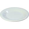 "Carlisle Sierrus Melamine Wide Rim Salad Plate 7.5"" - White CFS 3301602CS"
