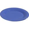 """Carlisle Sierrus Melamine Wide Rim Salad Plate 7.5"""" - Ocean Blue CFS 3301614CS"""