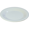 "Carlisle Sierrus Melamine Wide Rim Bread And Butter Plate 5.5"" - White CFS3302002CS"