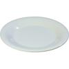 "Carlisle Sierrus Melamine Wide Rim Bread And Butter Plate 5.5"" - White CFS 3302002CS"