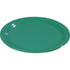 "Carlisle Sierrus Melamine Wide Rim Bread And Butter Plate 5.5"" - Meadow Green CFS3302009CS"