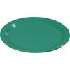 "Carlisle Sierrus Melamine Wide Rim Bread And Butter Plate 5.5"" - Meadow Green CFS 3302009CS"