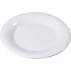 "Carlisle Sierrus Melamine Wide Rim Dinner Plate 12"" - White CFS 3302402CS"