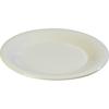 "Carlisle Sierrus Melamine Wide Rim Dinner Plate 12"" - Bone CFS 3302442CS"